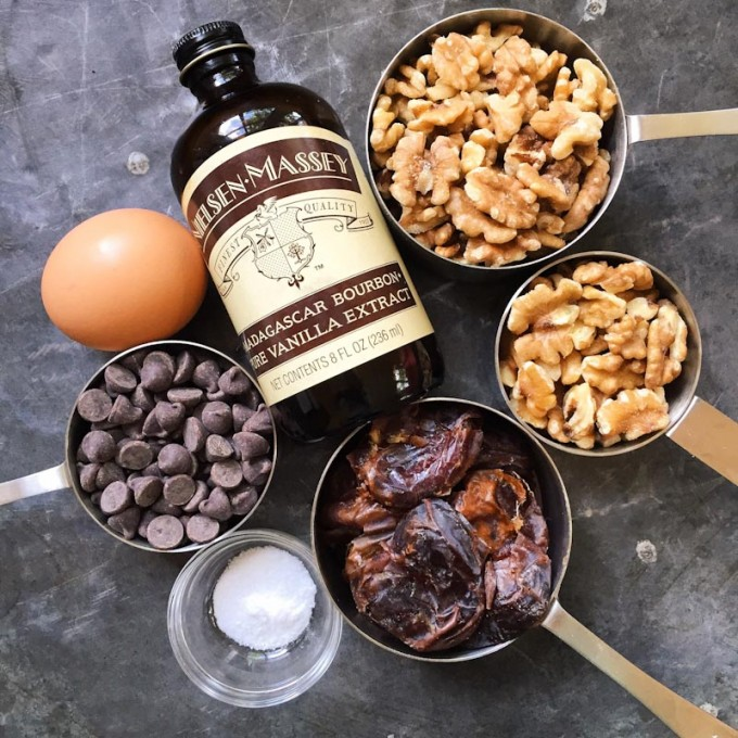 ingredients for gluten-free cookie bites http://www.marinmamacooks.com