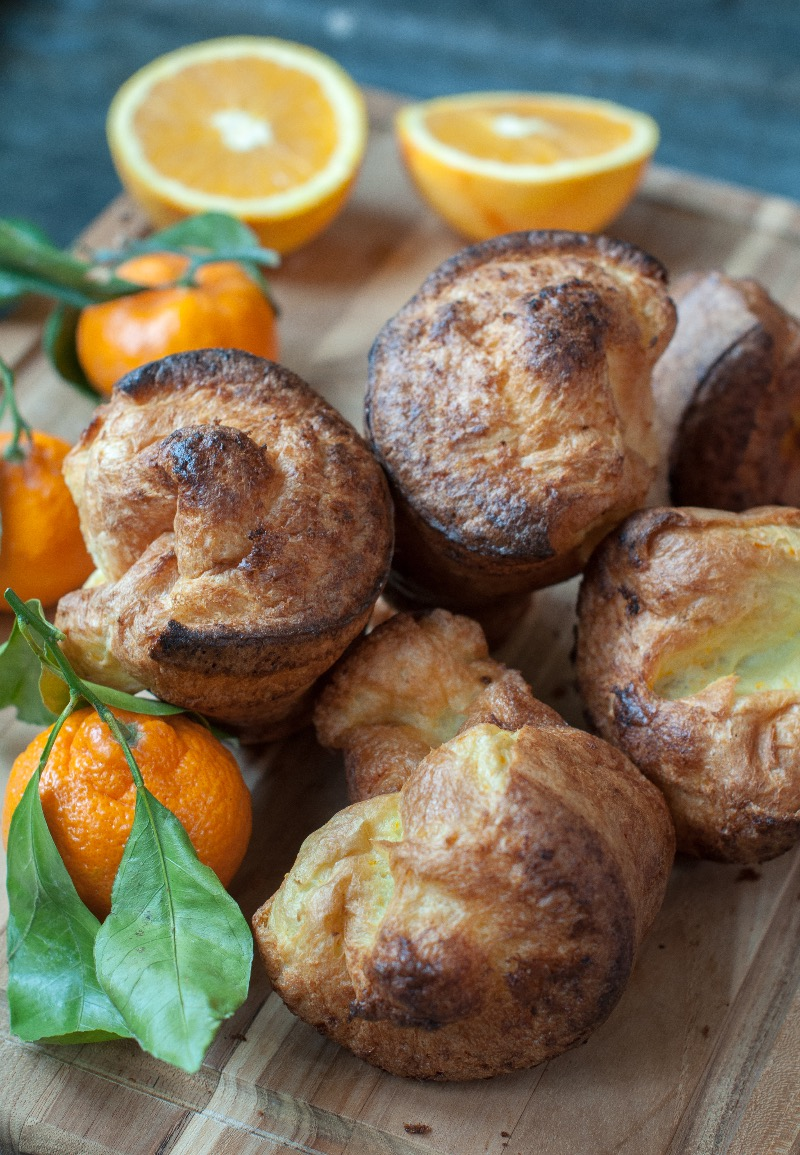 orange popovers