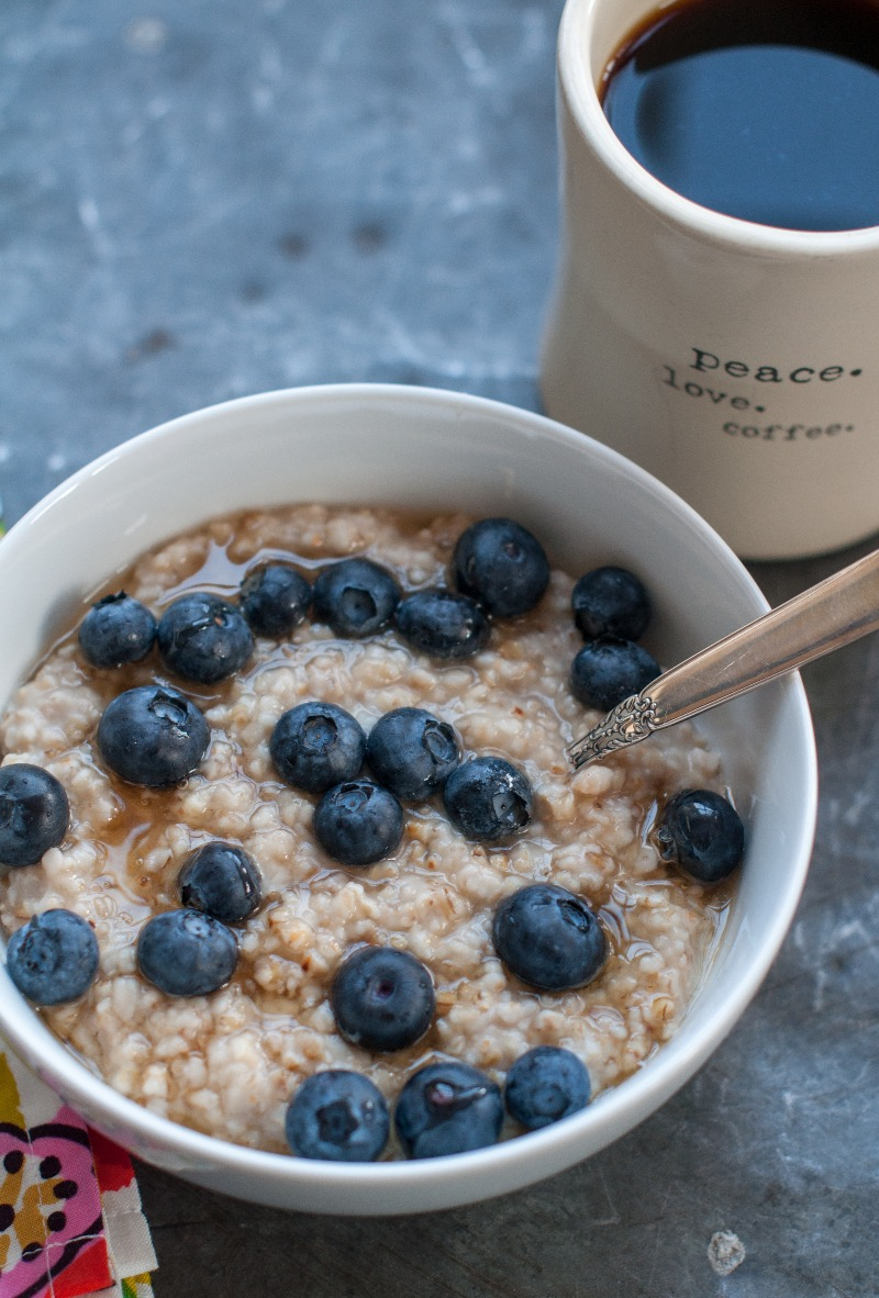 toasted overnight steel cut oats