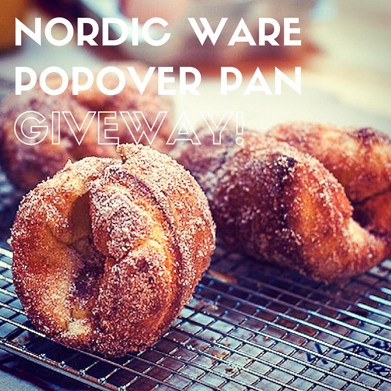 Nordic Ware popover pan giveaway
